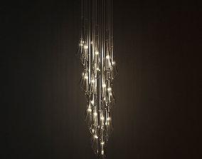 3D model Terzani Calle Ceiling Light