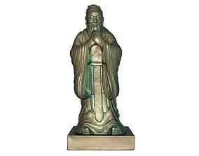3D model Confucius