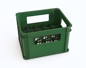 3D model Plastic crate 24