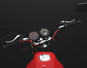 motorcycle 150cc 3D