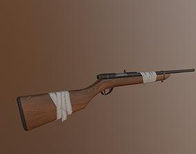 3D model Single shot rifle