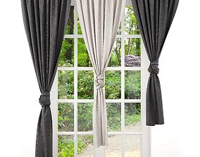 house 3D model Curtain