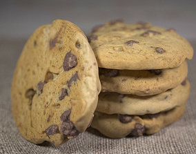 CHOC CHIP COOKIE - LOW and HIGH Poly 3D