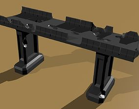 3D print model Wargame Overpass wh40k scale