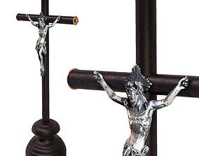 Crucifix 3D model bible