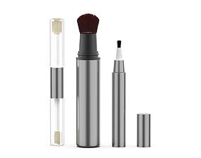 3D asset cosmetics brush