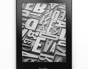 Amazon Kindle Paperwhite Ebook Reader 3D