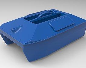 Large format Bait boat for carpfishing DIY 3d