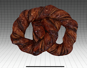3D model Chocolate Bagel