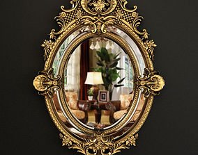 3D model 19th Century French Louis XV Fine Gilt Carved 1