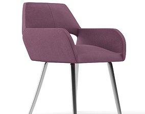 3D Kromvel Purple Chair