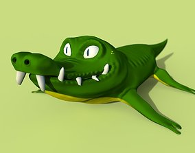 Gator 3D asset