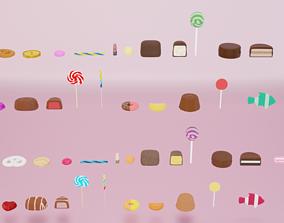 3D asset Candy
