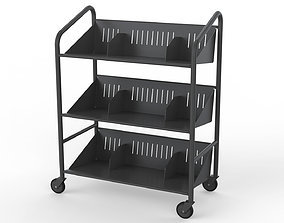Generic Cart Library Transport 03 3D model