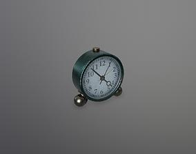 Alarm clock 3D asset game-ready PBR alarmclock
