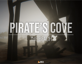 3D asset Pirate s Cove - The Beach