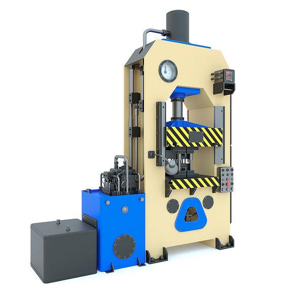 Industrial machine tool hydraulic press P474A