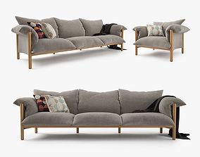 3D Jardan Wilfred Sofa Set