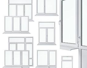 Window Set 1 3D