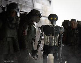 2-1b Medical Droid Star Wars 3d print model
