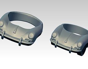356 porsche jewel ring Lot of 2 version 3D printable model