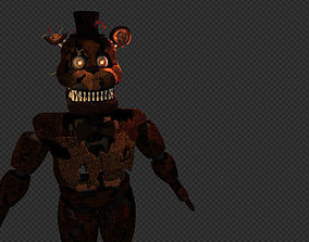 Nightmare Freddy 3D model