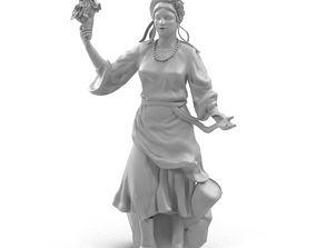 Ukraine Statue 3D