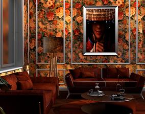 vray salon architectural interieur 3D