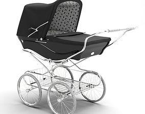 3D model Vintage Looking Baby Stroller