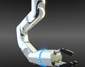 3D Robotic Arm Rigged