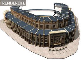 3D Yankee stadium exterior