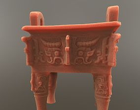 Chinese Bronze Ding Vessel 3D print model