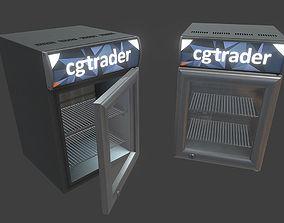Small Fridge 3D asset