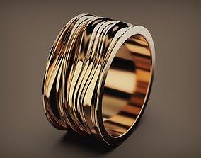 Ring Waves 3d Model