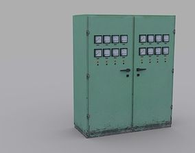 Electrical Panel 3D model VR / AR ready