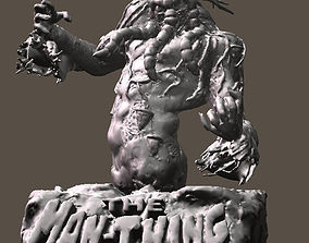 MAN THING CREATURE OF SWAMPS BUST 3D printable model