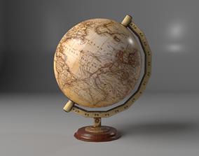 3D asset VR / AR ready Globe