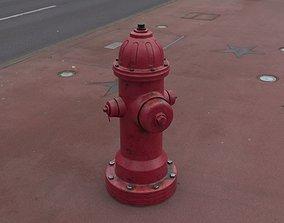 3D model PBR Fire hydrant