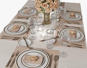 3D table setting 01