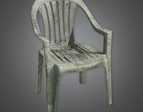 3D model Lawn Chair TLS - PBR Game Ready