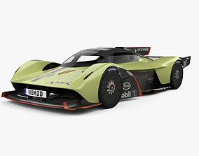 3D Aston Martin Valkyrie AMR Pro 2020