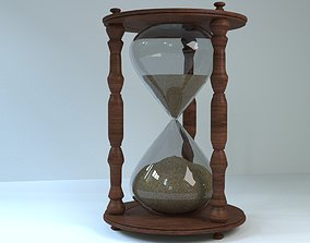 3D asset Old Hourglass