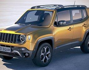 3D Jeep Renegade 2019