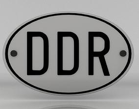 3D model GDR Plate
