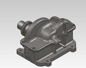 Gearbox 16 ratio 3D model