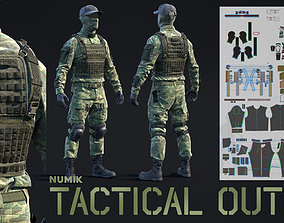 3D Numik Tactical Outfit - Customizable Kit