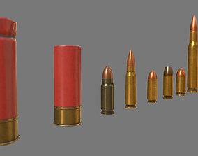 3D model Munition Shell PBR