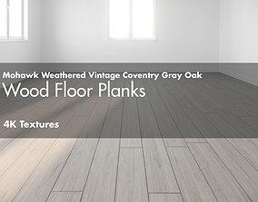 Mohawk Weathered Vintage Coventry Hardwood Wood 3D asset 2