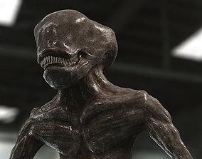 3D model Alien look like guy