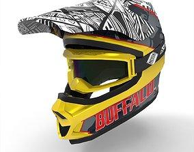 Motocross Helmet 3D asset